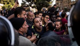 Explosion Near Saint Marks Cairo Coptic Cathedral