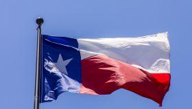 Texas Flag, Austin, Texas, USA