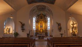 Mayrhofen Parish Church, nave