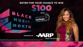 "Get Up! Mornings with Erica Campbell ® ""AARP Black Music Month Promotion"" FEATURE IMAGE"