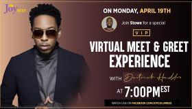 Meet and Greet Experience with Deitrick Haddon