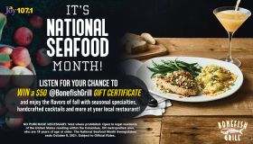 National Seafood Month Contest